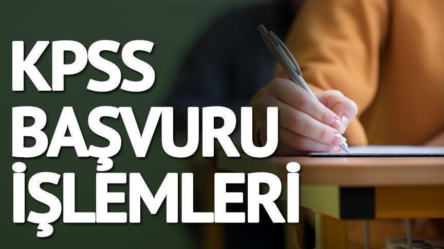 KPSS başvurusu için kritik günler… Memur adayları dikkat KPSS başvuruları için son hafta!