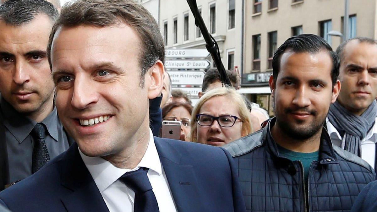 Büyük tepki çekmişti... Macron'dan dayakçı korumayla ilgili flaş karar