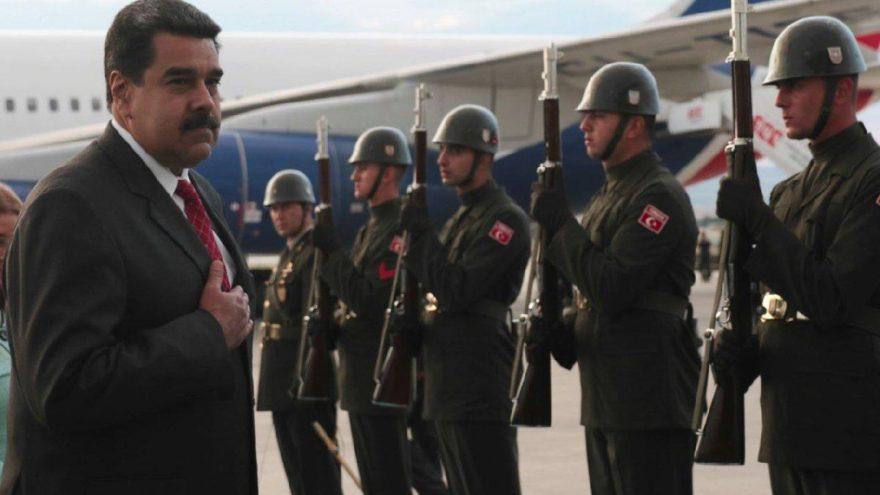 Türkiye'ye gelen Maduro'dan Erdoğan tweeti