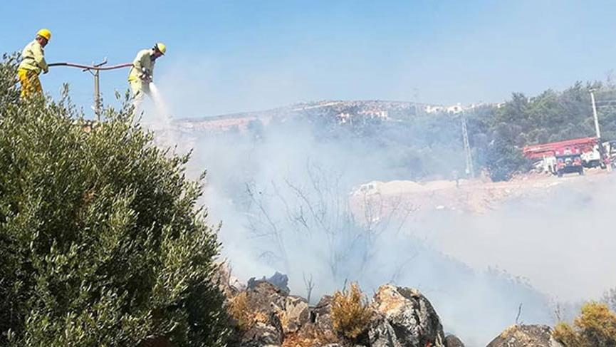 Bodrum ve Antalya'dan sonra o tatil beldesinde de yangın çıktı