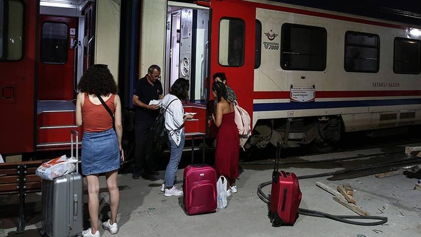 Faciadan sonra tren seferleri yeniden başladı