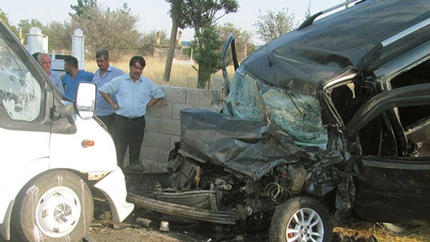 Gaziantep'te katliam gibi kaza: 1 ölü, 10 yaralı!
