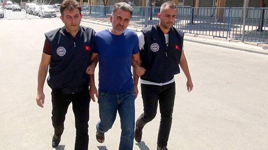 Ukrayna'da yakalanan FETÖ şüphelisi, Mersin'de tutuklandı