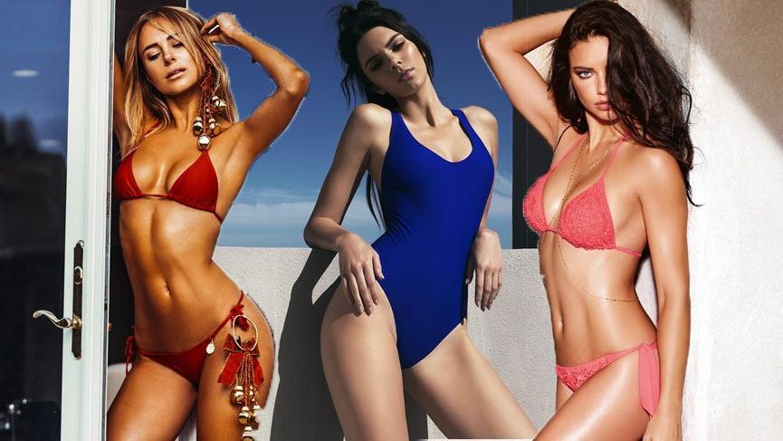 2018 plaj modasında 90'lar öne çıkıyor