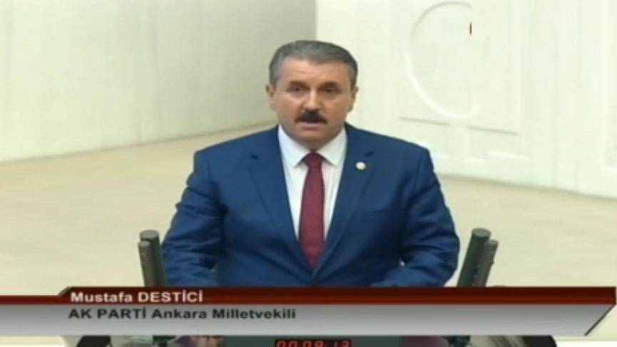 BBP lideri Destici 'AKP vekili' olarak yemin etti