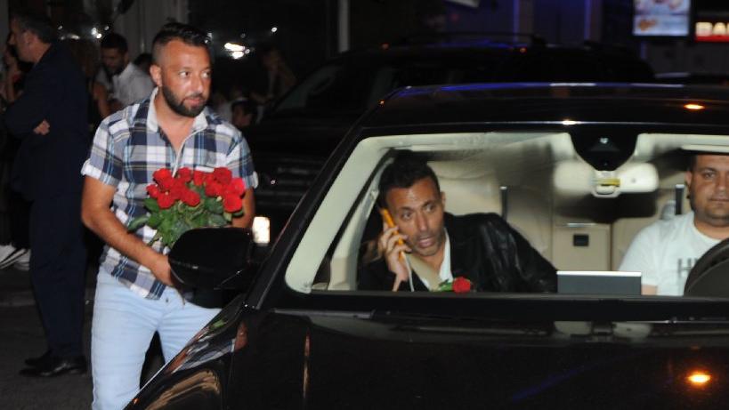 Mustafa Sandal, boşanmanın ardından İstanbul gecelerinde