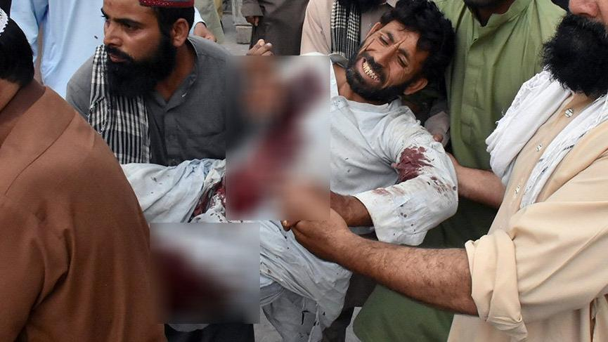 Pakistan kan gölüne döndü: 132 ölü 232 yaralı...