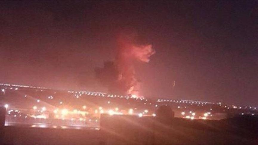 Mısır'da Kahire Havalimanı yakınlarında korkutan yangın