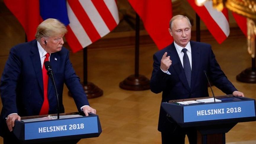 Son dakika... Trump ve Putin ortak basın toplantısı düzenledi
