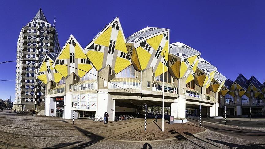 Rotterdam'ın küp evleri