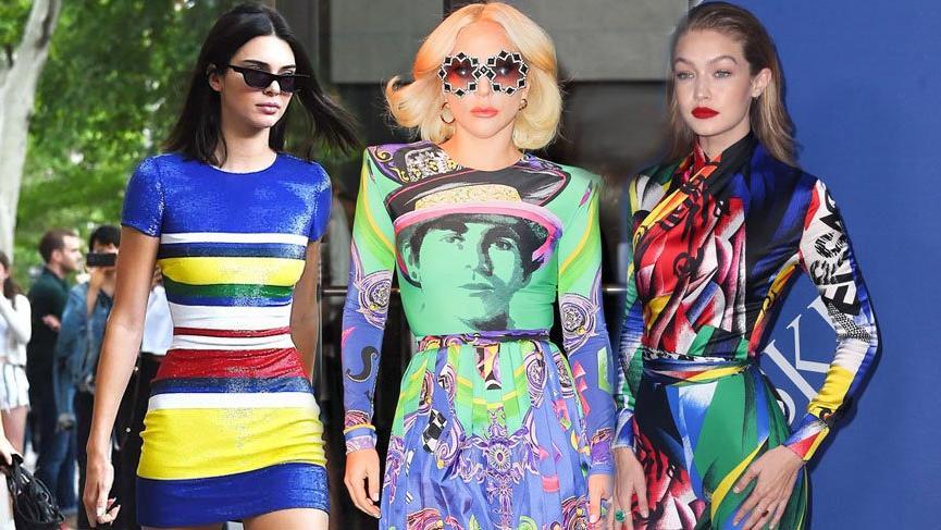 2018'in yeni trendi 'Gökkuşağı' renkleri