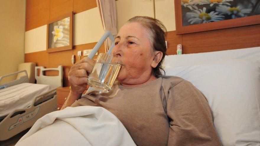 23 yıl sonra doya doya su içiyor