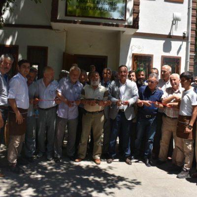 Kırıkkale'de millet kıraathanesi 'cup cake' ile açıldı