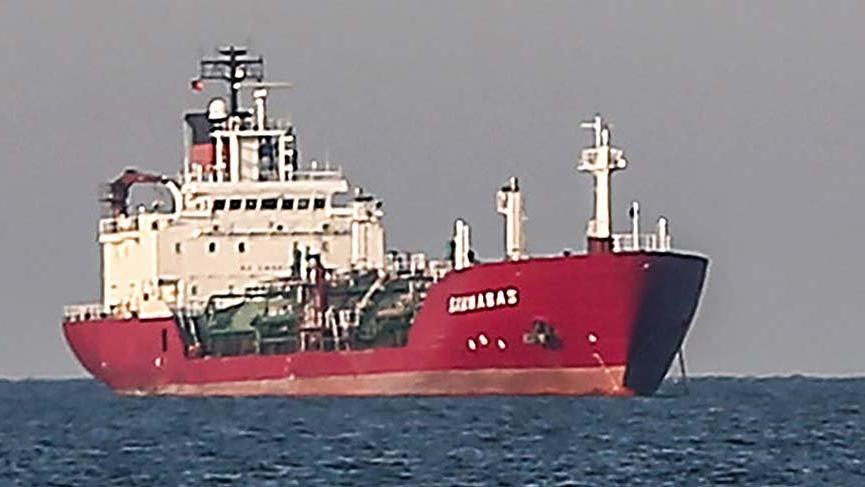 Sivriada'da gemi kazası