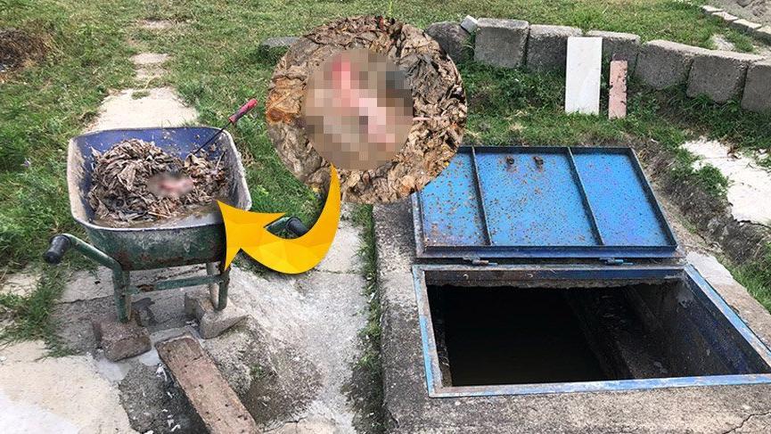 Zonguldak'ta temizlik işçileri kanalizasyonda temizlik yaparken bebek cesedi buldu