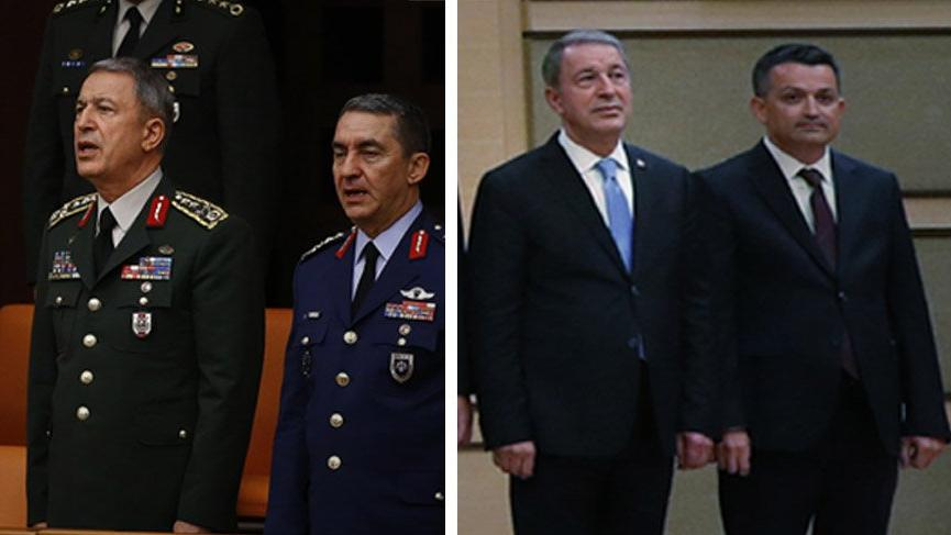 Milli Savunma Bakanı Hulusi Akar oldu