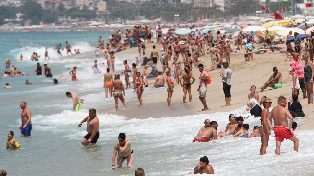 Turizm geliri ikinci çeyrekte yüzde 30.1 arttı
