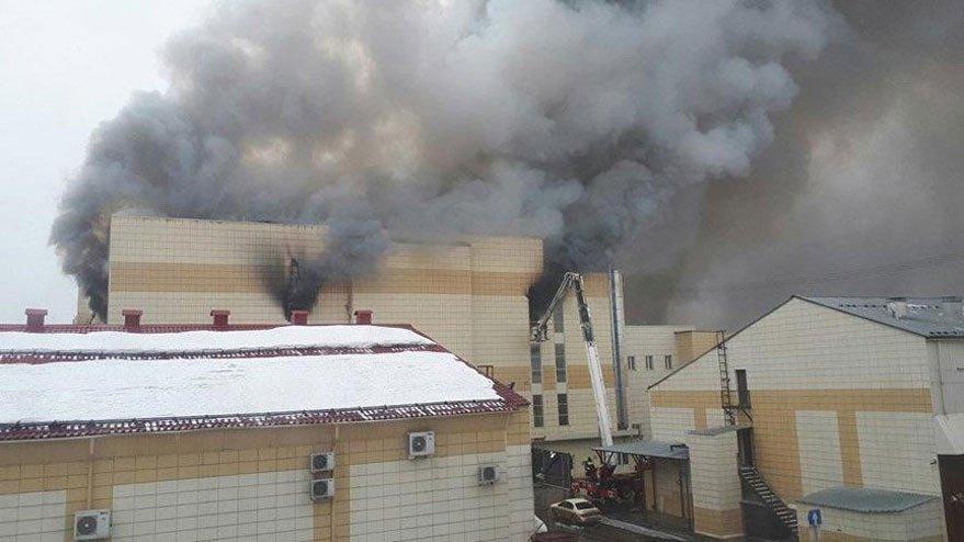 Rusya'da 64 kişinin hayatını kaybettiği yangında flaş gelişme