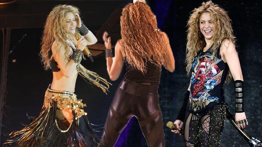 Shakira, 21 ülke, 51 konser için aynı kıyafetleri hazırlattı