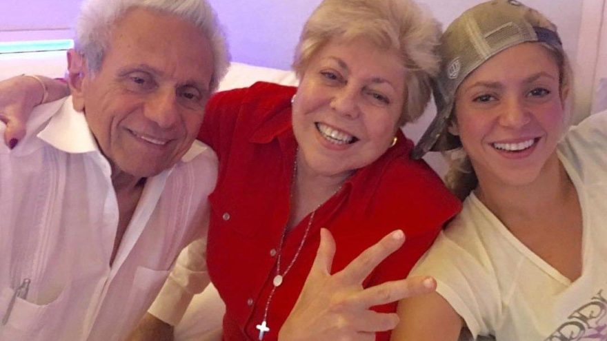 Shakira'dan son dakikada aile sürprizi