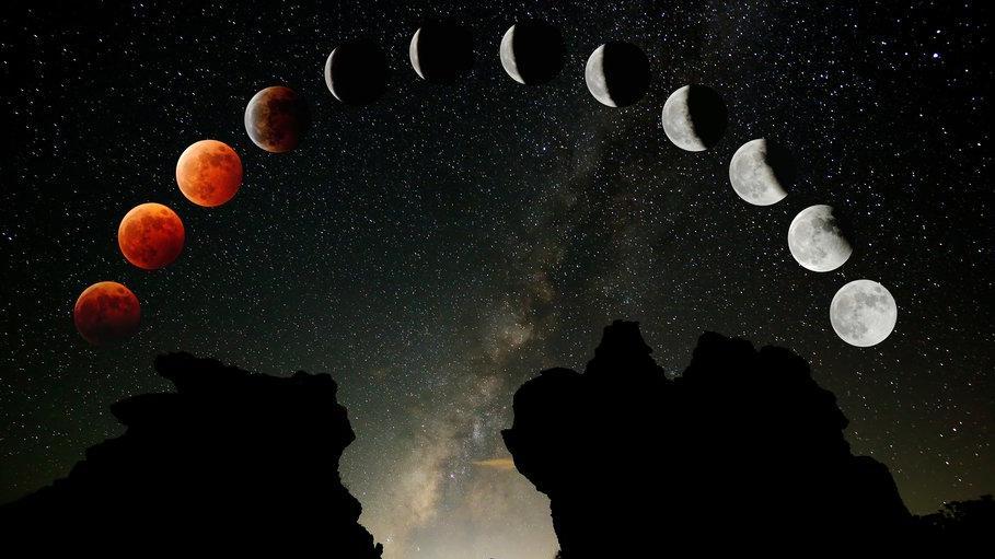 Kanlı Ay Tutulması için saatler kaldı: İşte Kanlı Ay Tutulması'nın merak edilenleri...
