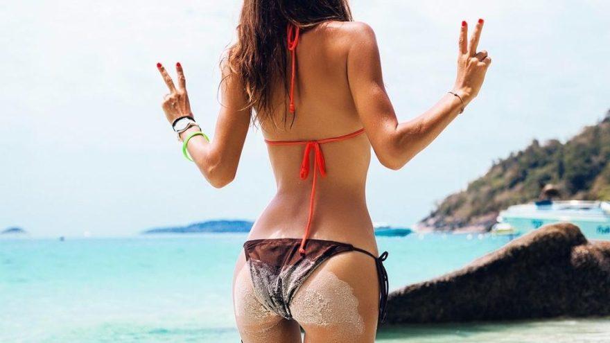 Bikiniyle poz verirken zayıf görünme hileleri