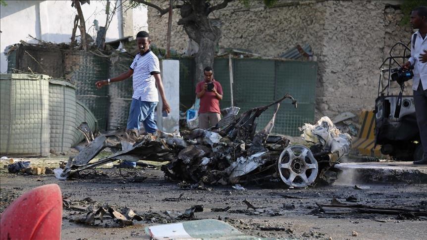 Somali'de bakanlığa bombalı saldırı