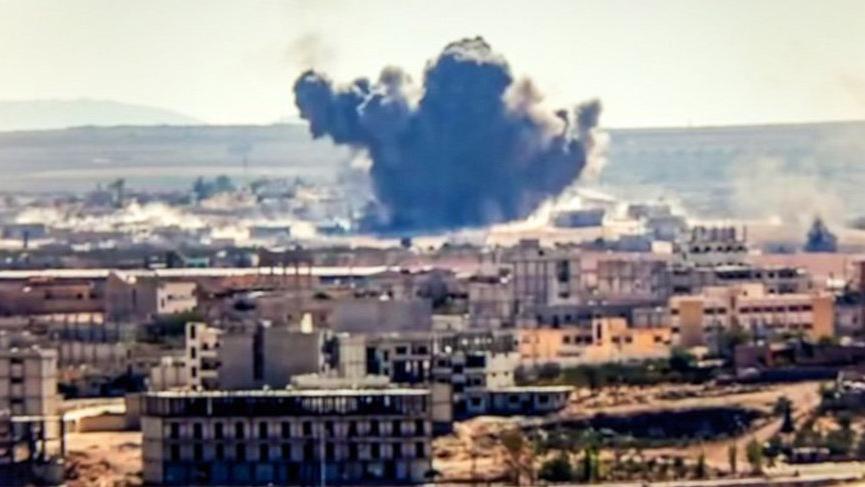 ABD öncülüğündeki koalisyon güçleri, Suriye'yi vurdu