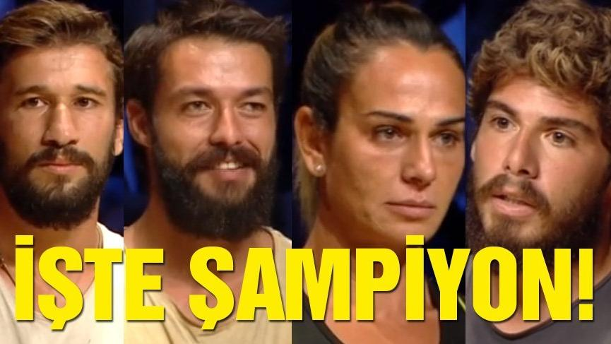 Survivor 2018'in kazananı belli oldu! Survivor şampiyonu kim oldu?
