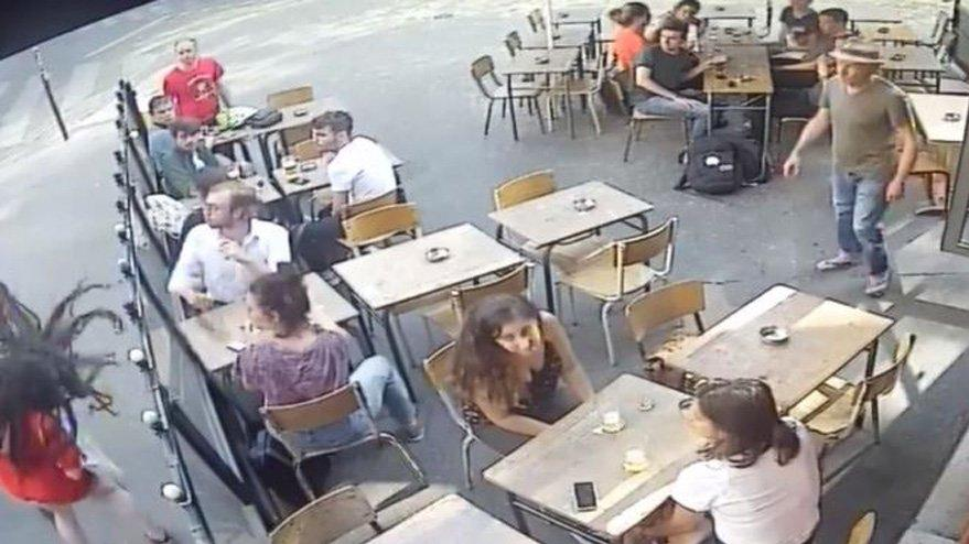Fransa bu olayla çalkalanıyor... Sokak ortasında kadına şiddet