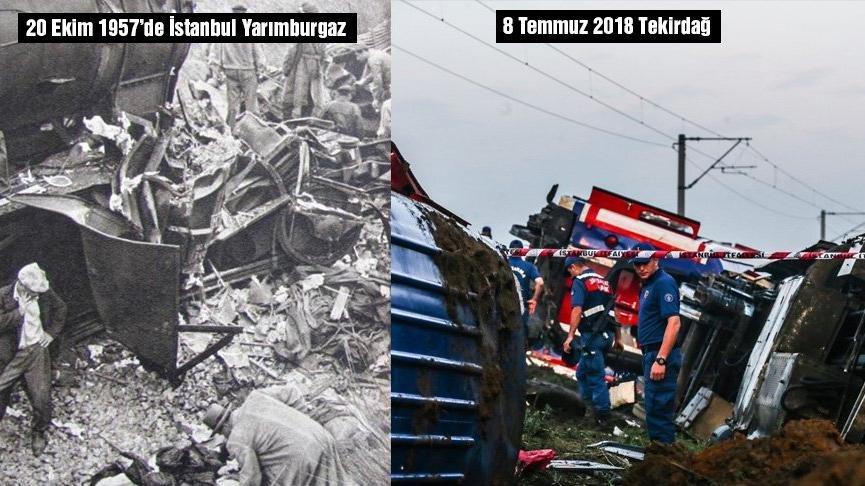 Türkiye'nin en büyük tren kazaları