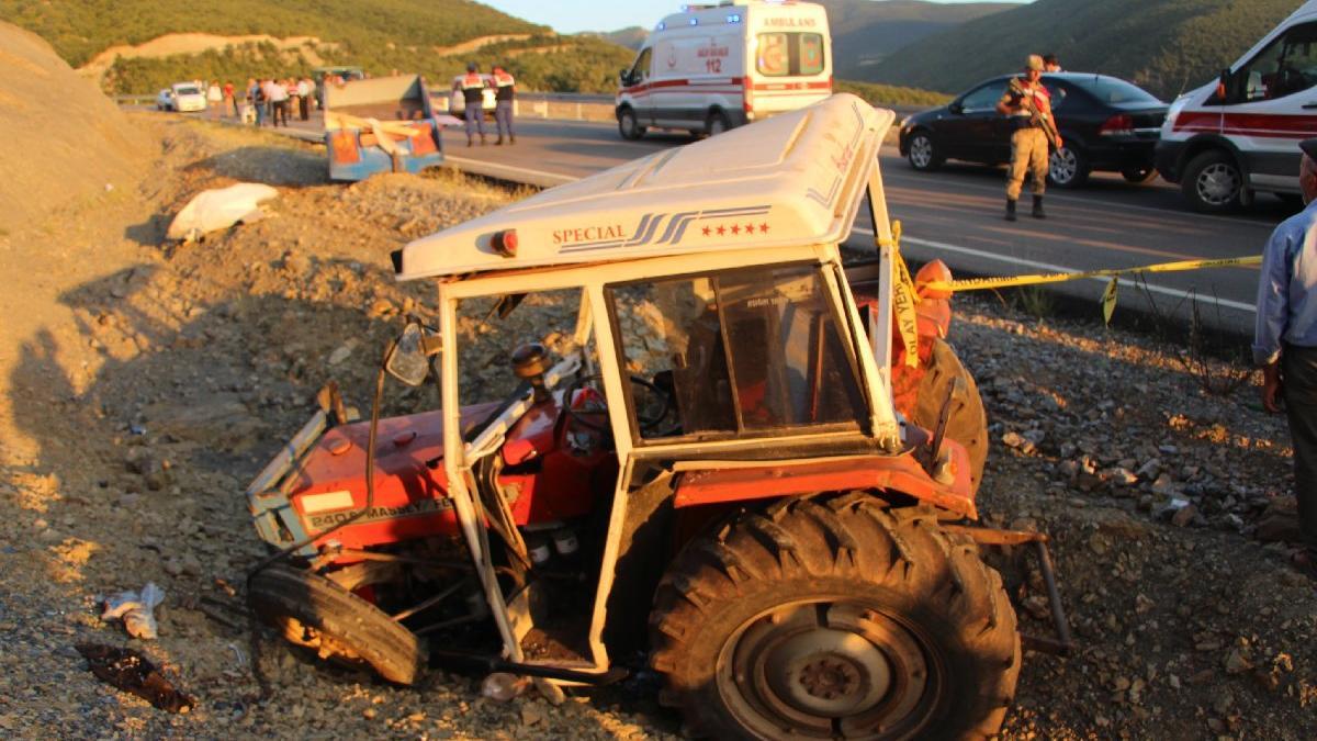 Tokat'ta korkunç kaza! Ölü ve yaralılar var