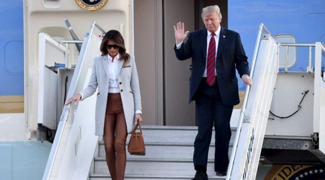 Trump, NATO'yu övdü Obama'ya verdi veriştirdi