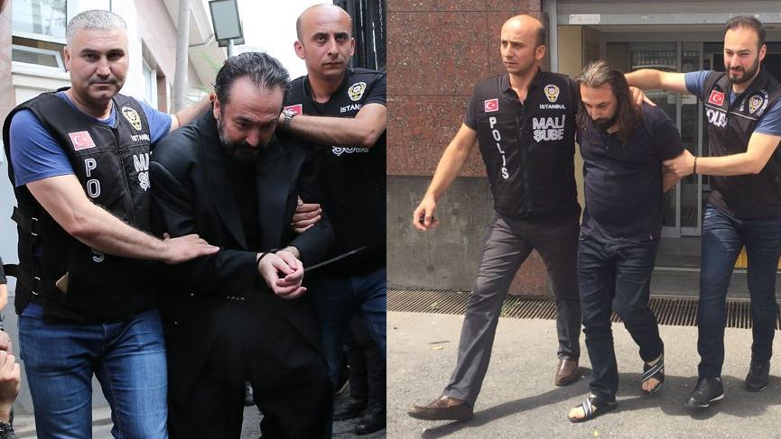 Adnan Oktar'ı gözaltına alan polisi tehdit eden şahıs tutuklandı