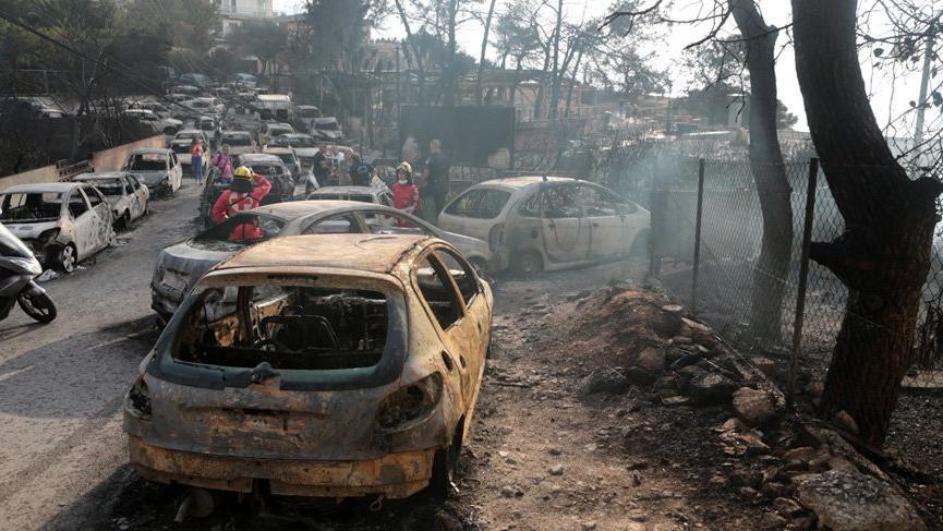 Yunanistan'daki yangın faciasıyla ilgili vicdansız yorumlara tepkiler