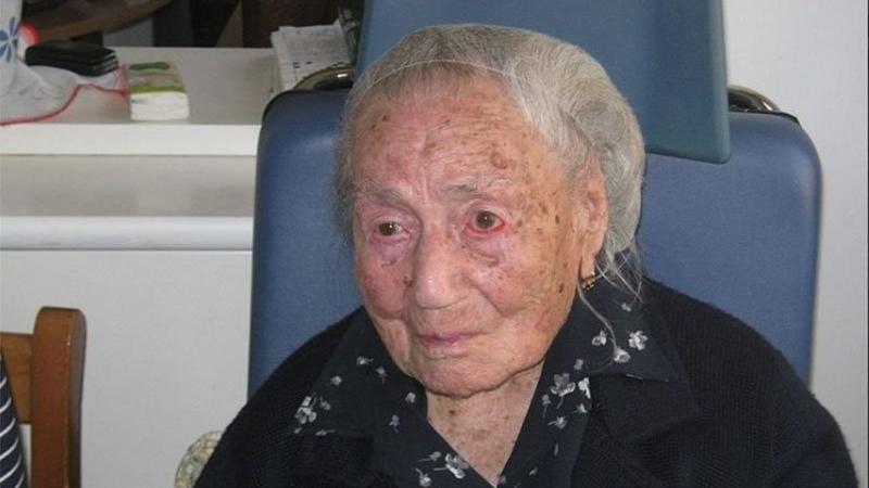 Avrupa'nın en yaşlı kadını hayatını kaybetti