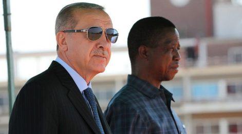 Cumhurbaşkanı Erdoğan Zambiya´da