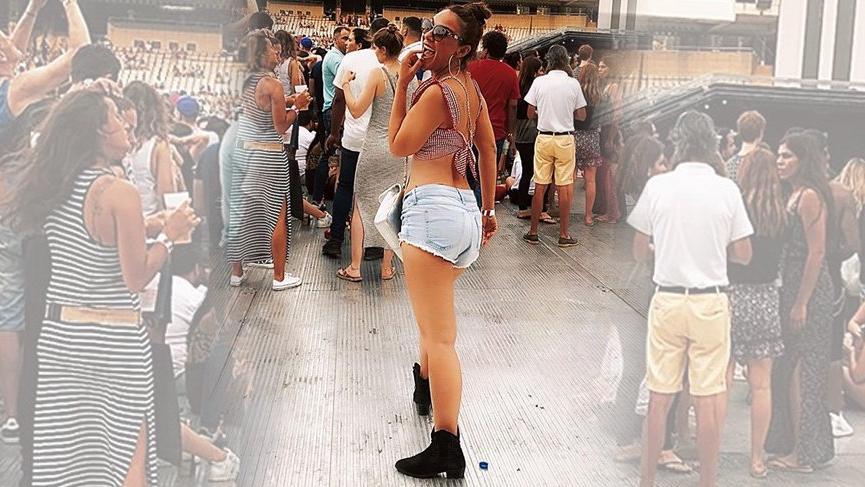 Ziynet Sali Beyonce konserinden paylaştı