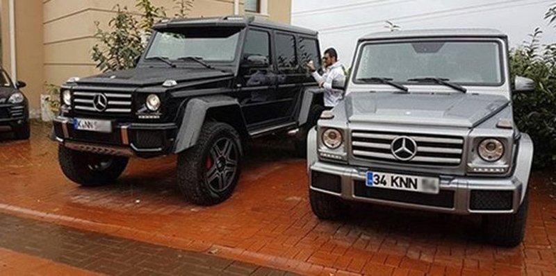 FOTO:İHA - Sofuoğlu'nun garajında kendi adına kayıtlı lüks araçlardan klasiklere kadar birçok otomobil bulunuyor.