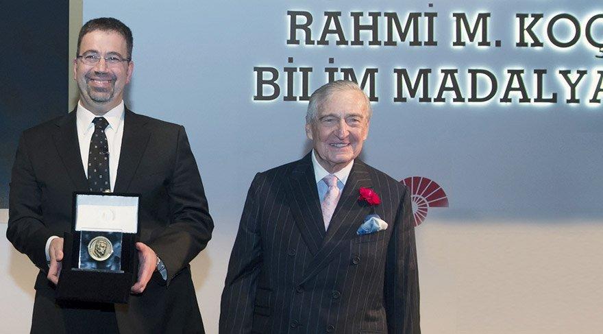 Acemoğlu Rahmi Koç bilim madalyası ödülünün sahibi olmuştu. Fotoğraf/Depo Photos