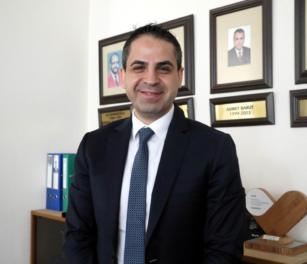 Akdeniz Turistik Otelciler ve İşletmeciler Birliği Başkanı (AKTOB) Erken Yağcı