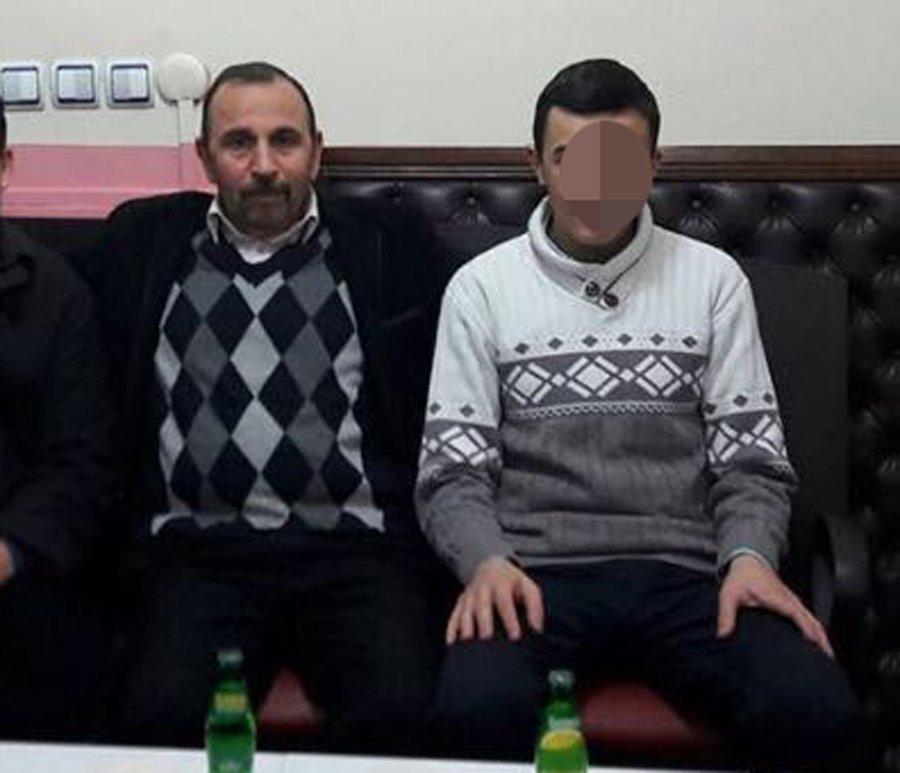 Karabey K.'nin (soldaki) 17 yaşındaki oğlu A.K.'yi (sağdaki) azmettirdiği iddia ediliyor.