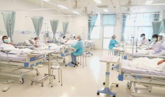 Çocukların hastanede tedavisi sürüyor.