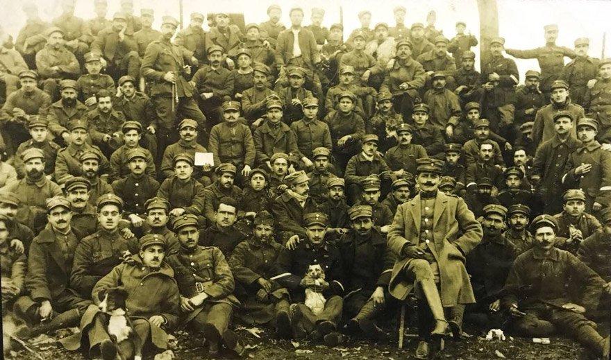 İşgalci Yunan askerleri Eskişehir'de. (1921)