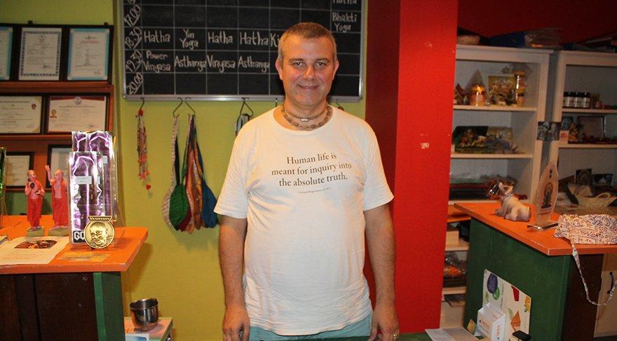 Govinda'nın işletmecisi Serhat Şen