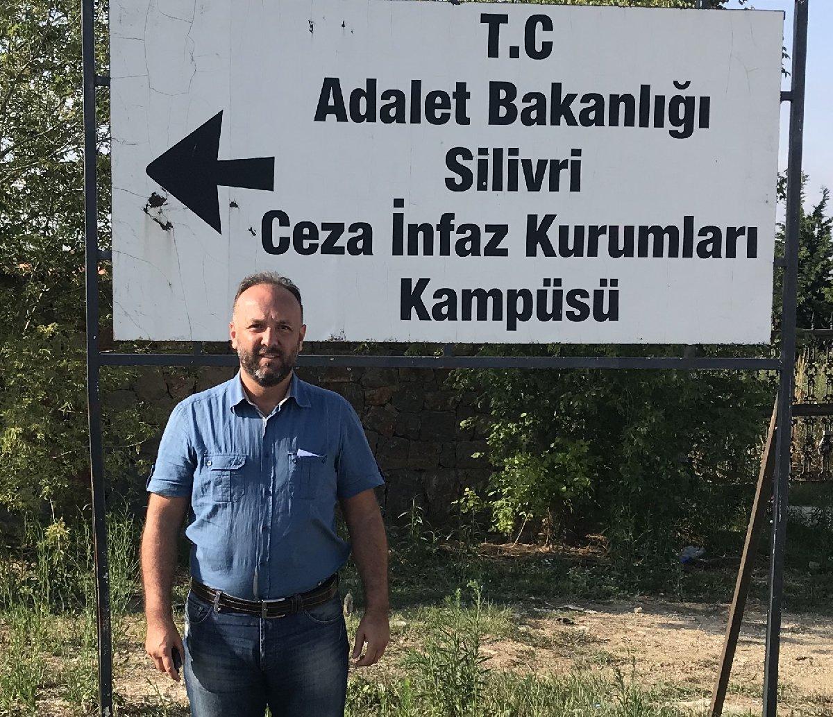FOTO:SÖZCÜ - CHP'li Turan Akçagöz, Eren Erdem'i cezaevinde ziyaret etti.