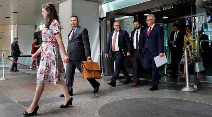 İlk görüşmenin ardından ABD Dışişleri Sekreteri Sullivan ve Türk Dışişleri Bakanı Yardımcısı Sedat Önal toplantının yapıldığı yerden birlikte ayrıldı. Reuters