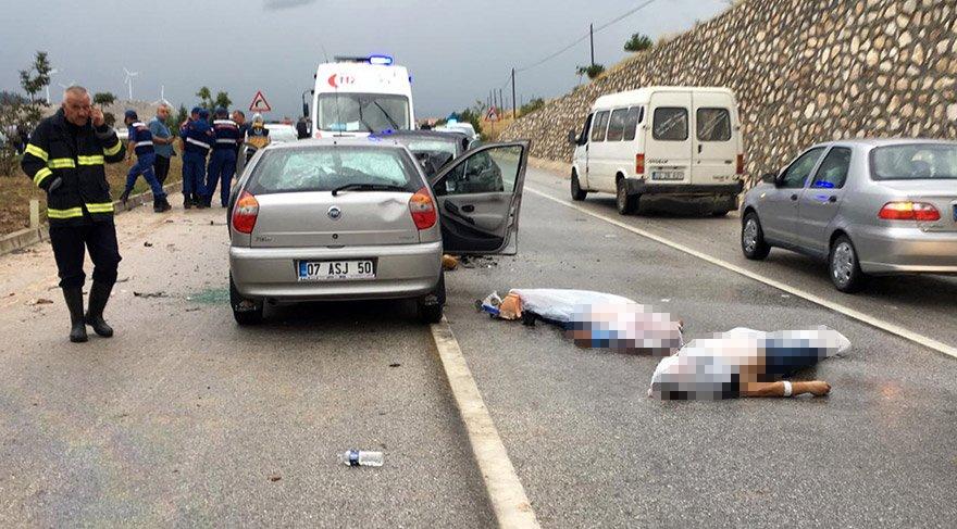 Feci kazaya ilk müdahaleyi olay yerine gelen ambulanslar yaptı. DHA