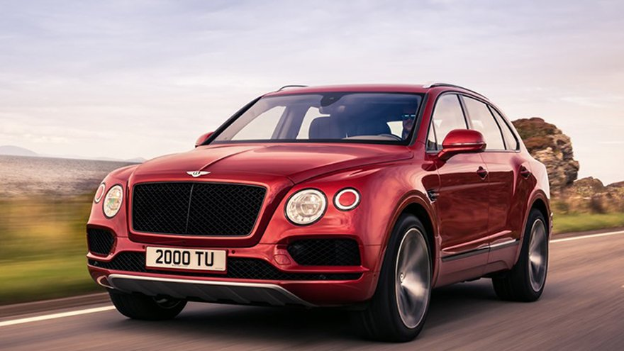 Bentley 2018 Bentayga V8