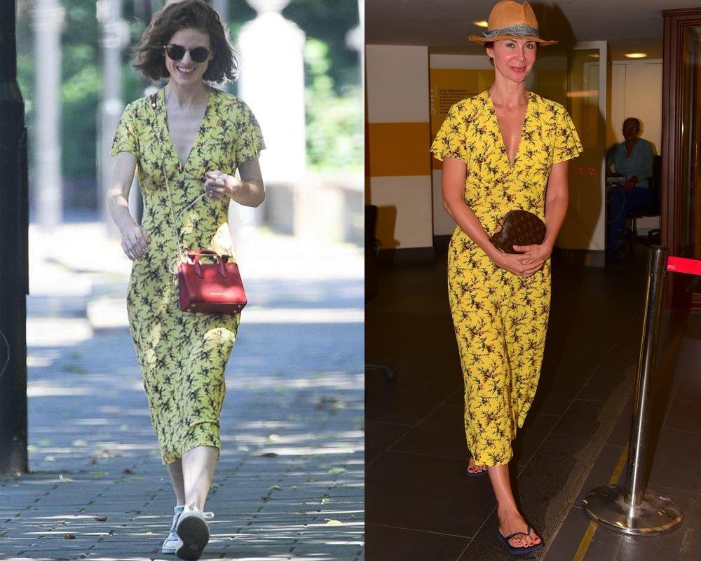 Elbise sizce hangisine daha çok yakışmış?